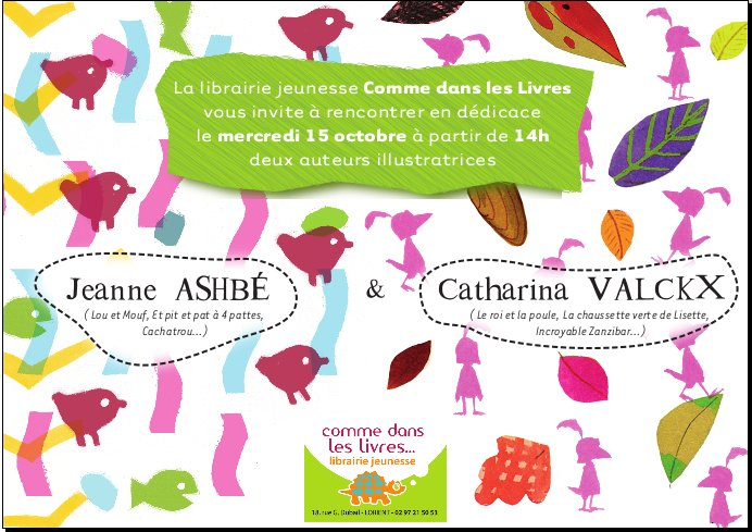 rencontre jeanne ashbe et catharina valckx